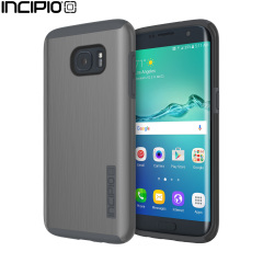 Incipio DualPro Shine Samsung Galaxy S7 Edge Case - Gunmetal / Grey
