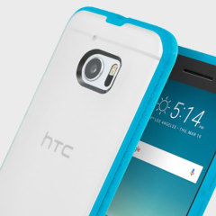 Incipio Octane HTC 10 Case - Frost / Neon Blue