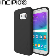 Incipio Octane Samsung Galaxy S6 Edge Case - Black / Black