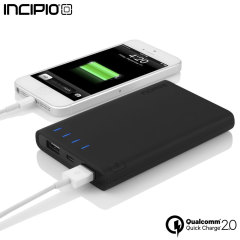 Incipio offGRID Portable 6,000mAh Qualcomm Quick Charge 2.0 Power Bank