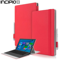 Incipio Roosevelt Slim Folio Microsoft Surface Pro 3 Case - Red