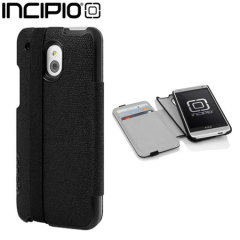 Incipio Watson with Black Strap for HTC One Mini - Black