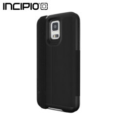 Incipio Watson with Black Strap for Samsung Galaxy S5 - Black