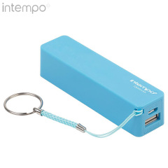 Intempo 1800 mAh Power Bank Portable Charger - Blue