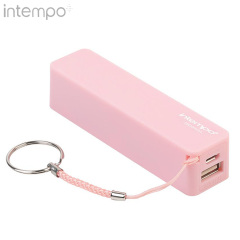 Intempo 1800mAh Power Bank Portable Charger - Pink