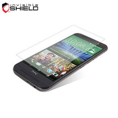 InvisibleShield Tempered Glass HTC One M9 Screen Protector