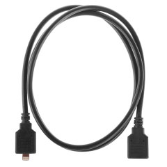 iPad Air 2/1, iPad 4, Mini 3/2/1 Lightning Extension Cable - Black