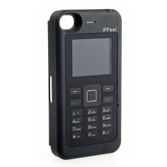iPhone 4S / 4 Back Cover with Dual SIM Mobile Phone