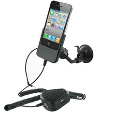 iPhone 4S / 4 Car Mount With Hands-Free