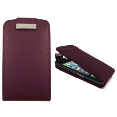 iPhone 5 Flip Case - Purple