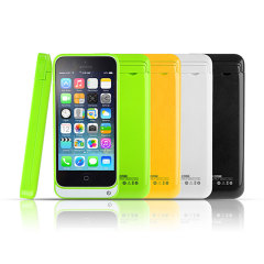 iPhone 5C Power Jacket 2200mAh - Yellow