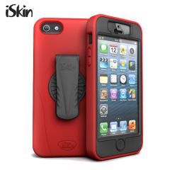 iSkin Tough Revo 360 For Apple iPhone 5 - Red