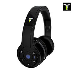 iT7x Premium Wireless Bluetooth Headphones - Black