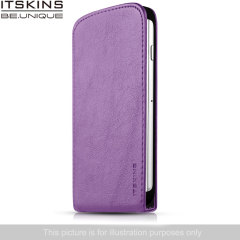 ITSKINS Milano Flap Wiko Bloom Flip Case - Purple