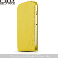 ITSKINS Milano Flap Wiko Bloom Flip Case - Yellow