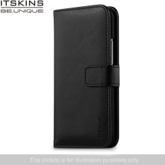 ITSKINS Wallet Book Leather-Style Wiko Bloom Case - Black