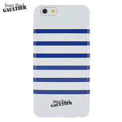 Jean Paul Gaultier Striped Sailor iPhone 6 Shell Case - White / Navy
