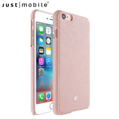 Just Mobile Quattro Genuine Leather iPhone 6S / 6 Case - Pink