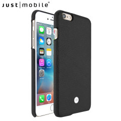 Just Mobile Quattro Real Leather iPhone 6S Plus / 6 Plus Case - Black