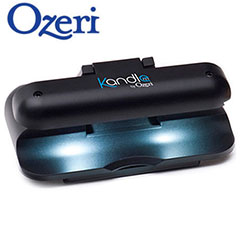 Kandle by Ozeri Clip-On Reading Light for Amazon Kindle - Black