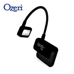 Kandle Flex by Ozeri Clip-On Reading Light for Amazon Kindle - Black