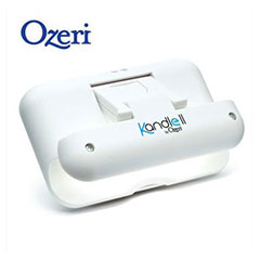 Kandle II by Ozeri Clip-On Reading Light for Amazon Kindle - White