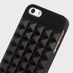 Karl Lagerfeld 3D Studs iPhone SE / 5S / 5 Case - Black