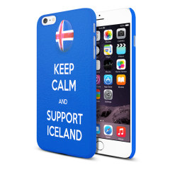 Keep Calm and Support Iceland Football Euro 2016 iPhone 6S / 6 Case
