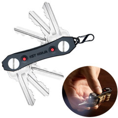 Key Ninja Multi-Tool Key Holder with Torch