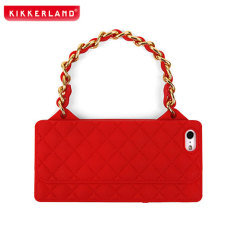Kikkerland Purse Case for iPhone 5S / 5 - Red