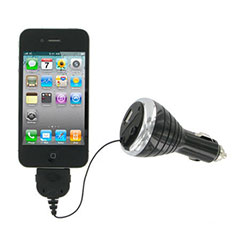 Kit Retractable In Car Charger - iPhone / iPod