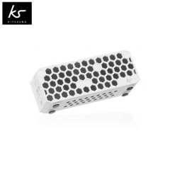Kitsound Hive Bluetooth Wireless Portable Stereo Speaker - White