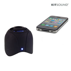 KitSound KSBLUNO Portable Bluetooth Speaker