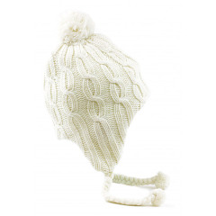 Kitsound Peruvian Audio Beanie - Cream
