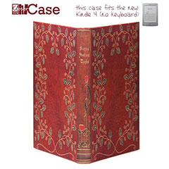 KleverCase False Book Case for Amazon Kindle - Burns' Poetical Works