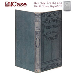 KleverCase False Book Case for Amazon Kindle - Dracula