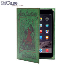 KleverCase iPad Mini 3/2/1 Book Case - Alice's In Wonderland
