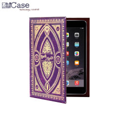 KleverCase iPad Mini 3/2/1 Book Case - Book Of Spells