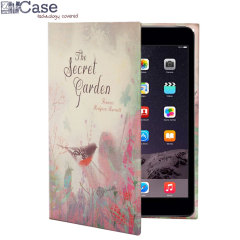 KleverCase iPad Mini 4 Book Case - The Secret Garden