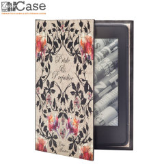 KleverCase Kindle Paperwhite 6 Inch Book Case - Pride and Prejudice