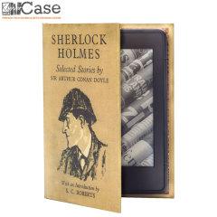 KleverCase Kindle Paperwhite 6 Inch Book Case - Sherlock Holmes
