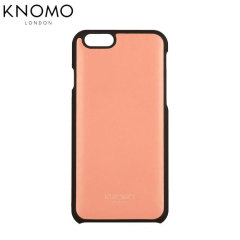 Knomo Snap On iPhone 6 Leather Case - Clay