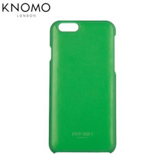 Knomo Snap On iPhone 6 Leather Case - Green
