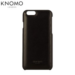 Knomo Snap On iPhone 6S / 6 Leather Case - Black