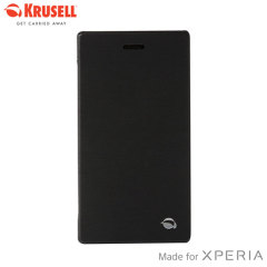Krusell Boden FlipCover Case for Sony Xperia Z2 - Black