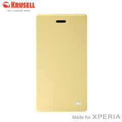 Krusell Boden FlipCover Case for Sony Xperia Z2 - Yellow