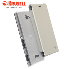 Krusell Boden Sony Xperia M2 FlipCover Case - White