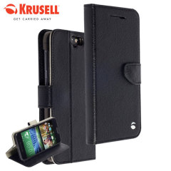 Krusell Boras FolioWallet HTC One A9 Cover - Black