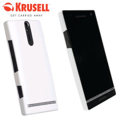 Krusell ColorCover Xperia S Case - White