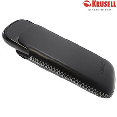 Krusell DONSö Leather Pouch for Google Nexus S - Black